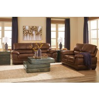 Fontenot - Chocolate - Sofa & Loveseat