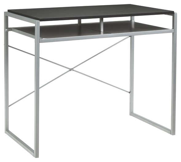 Awe Inspiring Bertmond Two Tone Home Office Desk Home Interior And Landscaping Synyenasavecom