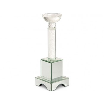 Montreal Crystal Tower Candle Holder