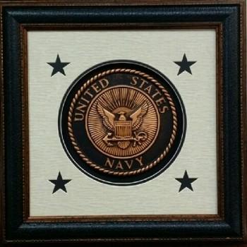 Seal of USA Navy 16 X 16