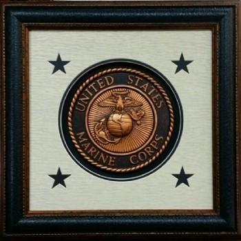 Seal of USA Marine 16 X 16