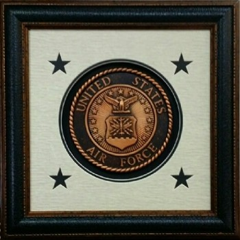 Seal of USA Air Force 16 X 16