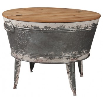 Shellmond - Two-tone - Accent Cocktail Table