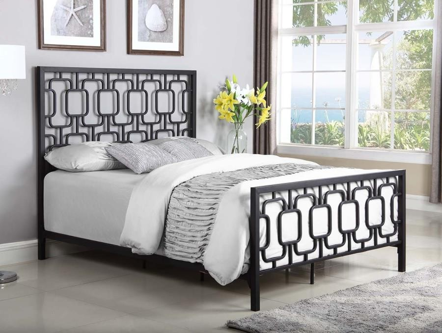 queen bed 300768q complete bed sets price busters furniture. Black Bedroom Furniture Sets. Home Design Ideas