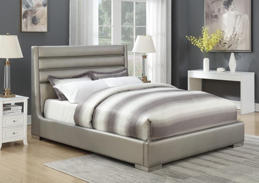 CAL KING BED W/ LED
