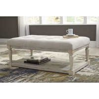 Shawnalore Upholstered Cocktail Table