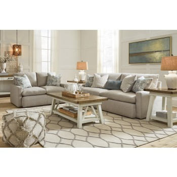 Melilla - Ash - Sofa & Loveseat