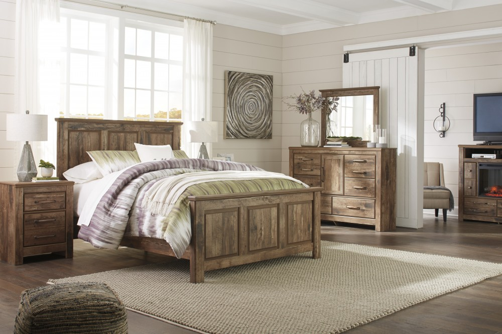 Blaneville 6 Piece QUEEN Bedroom Set