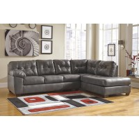 Alliston DuraBlend - Gray 2 Pc. RAF Chaise Sectional
