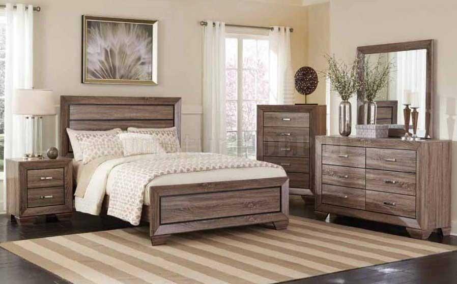KAUFFMAN Dresser Mirror Queen Bed
