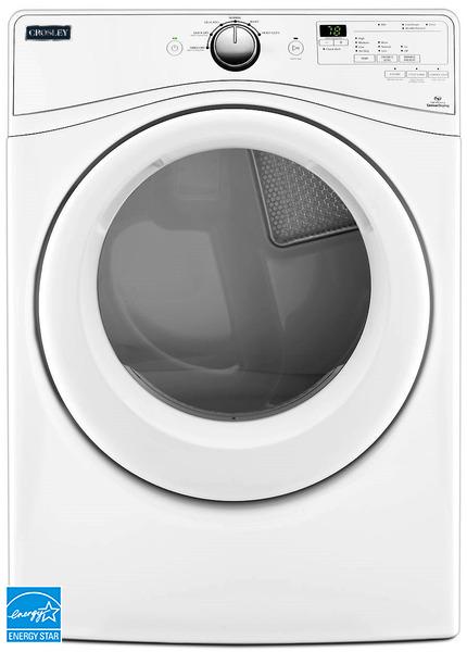 Crosley CED7464GW 7.4 Cu. Ft Front Load Gas Dryer
