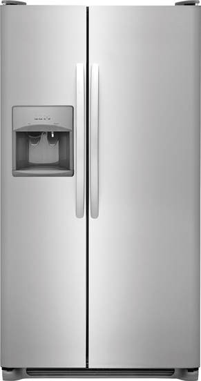 Crosley Crse263ts D 26 Cu Ft Side By Side Refrigerator
