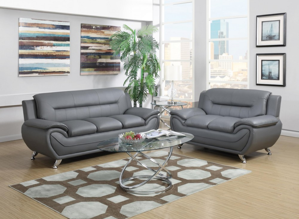 Gray Sofa and Love