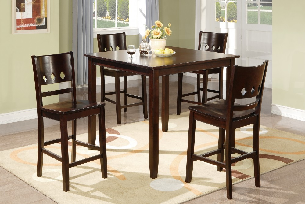 Abigail 5PC Counter Height Dining Set