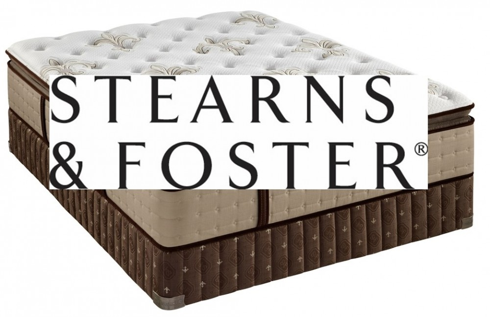 Clearance Sample Mattress - Stearns & Foster.            Availability varies by store.  Subject to prior sale.