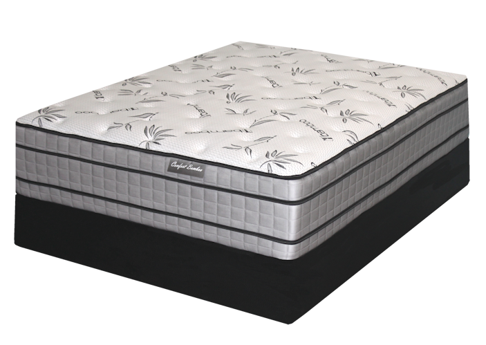 Comfort Bamboo Flip Cbcombamflip Pillow Top Mattresses