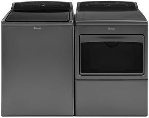 Whirlpool Chrome Shadow Washer & Electric Dryer