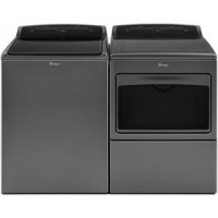 Whirlpool Chrome Shadow Washer & Electric Dryer
