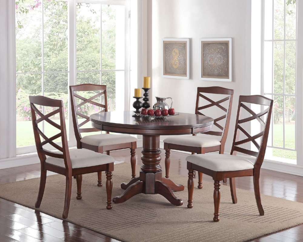 Diana 5Pcs Dining Set Table + 4 Chairs