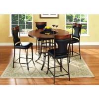 TABLE & 4 PUB CHAIRS - D310