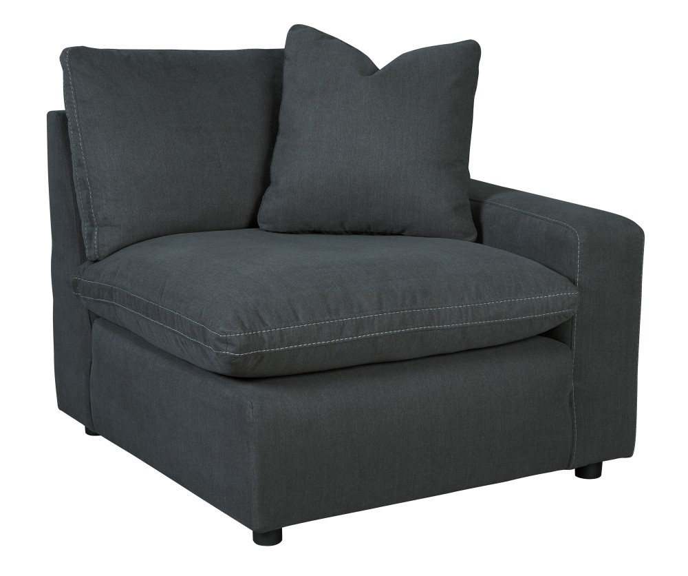 Savesto   Charcoal   RAF Corner Chair