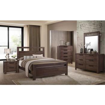 Rustic Ale Five Piece Queen Bedroom Set 206291q S5 Bedroom