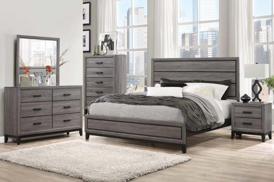 Kate Dresser Mirror Queen Bed @ PriceBusters Furniture | Global ...