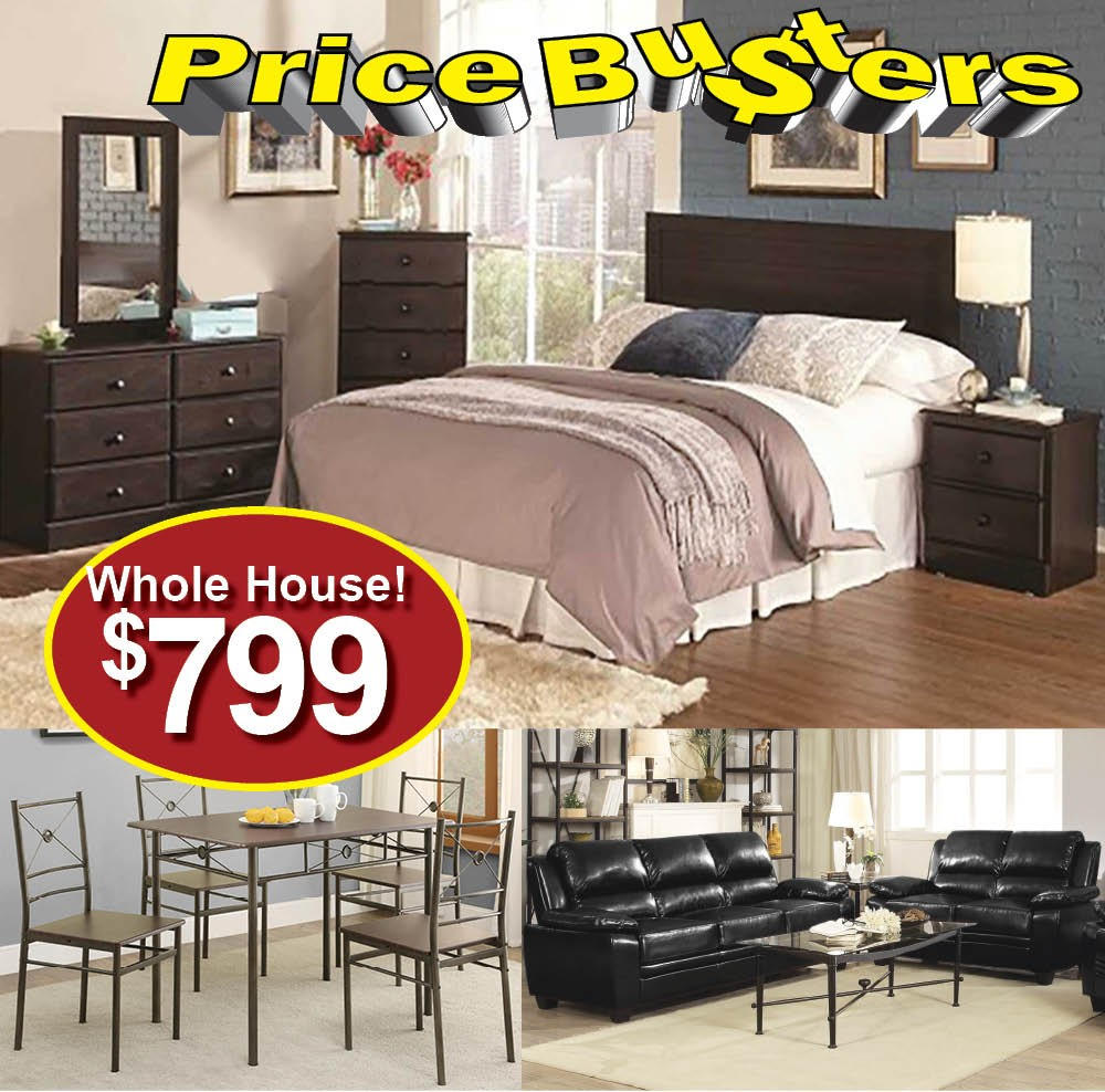 Elegant Discount Furniture Package #75