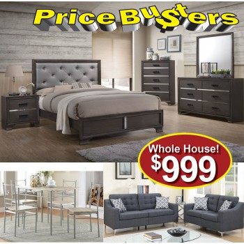 Discount furniture store package 76 76 bedroom packages price busters furniture for Cheap bedroom furniture packages