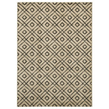 Jui - Brown/Cream - Medium Rug
