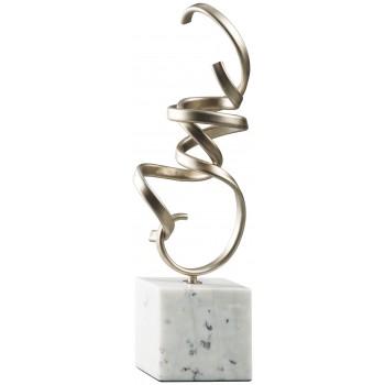 Pallaton - Champagne/White - Sculpture