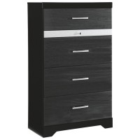 Starberry - Black - Six Drawer Chest
