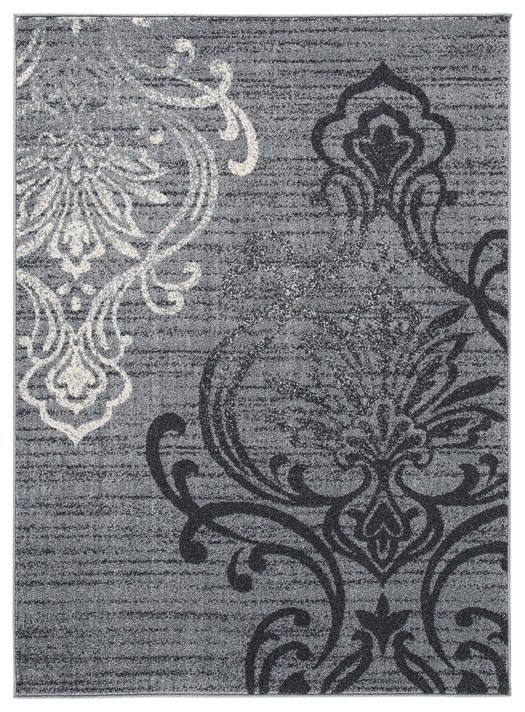Verrill - Gray/Black - Large Rug