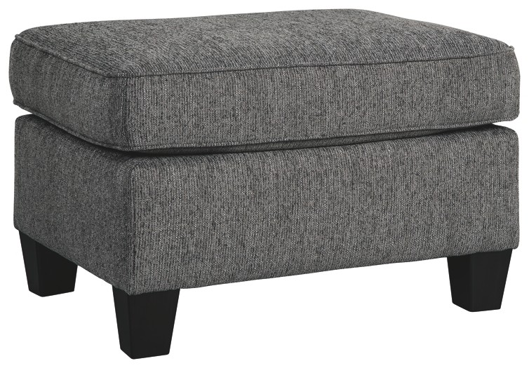 Astonishing Agleno Charcoal Ottoman 7870114 Ottomans Home Gmtry Best Dining Table And Chair Ideas Images Gmtryco