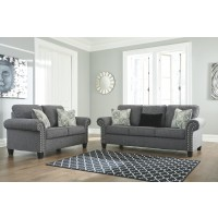 Agleno - Charcoal - Queen Sofa Sleeper