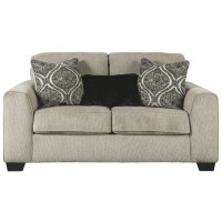 Parlston - Alloy - Loveseat