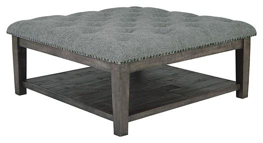 Borlofield Dark Gray Ottoman Cocktail Table T831 21