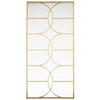 Eamon - Antique Gold Finish - Accent Mirror