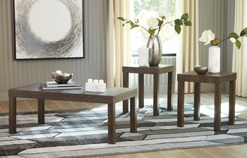 Keilson - Brown - Occasional Table Set (3/CN)