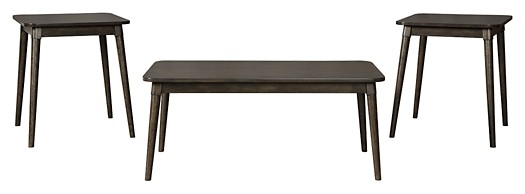 Neilmond - Dark Brown - Occasional Table Set (3/CN)
