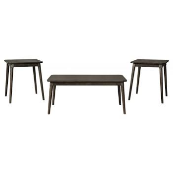 Neilmond - Dark Brown - Occasional Table Set (3/CN)