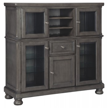 Audberry - Dark Gray - Dining Room Server