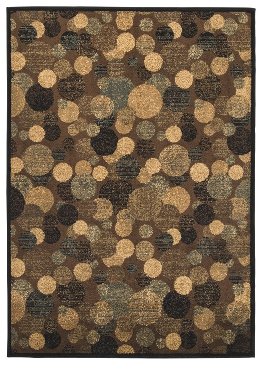 Vance - Brown/Cream - Medium Rug