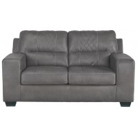Narzole - Dark Gray - Loveseat