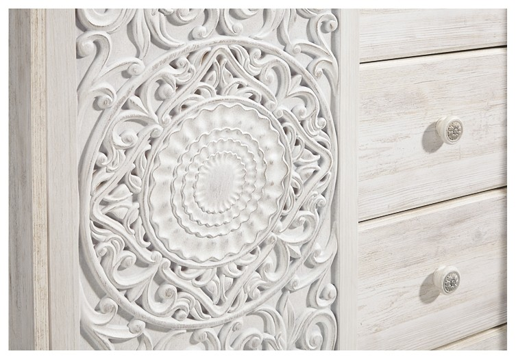 Paxberry - White Wash - Dressing Chest