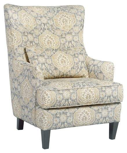 Aramore - Fog - Accent Chair
