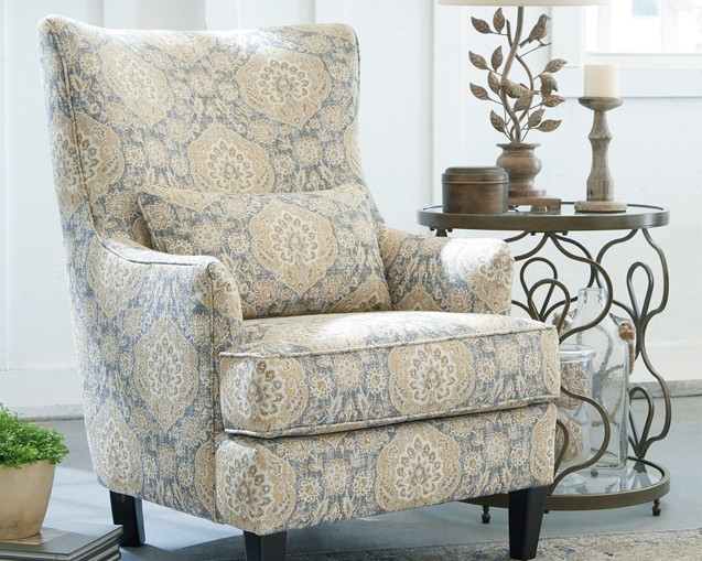 Aramore Fog Accent Chair 1280522 Chairs Furnish