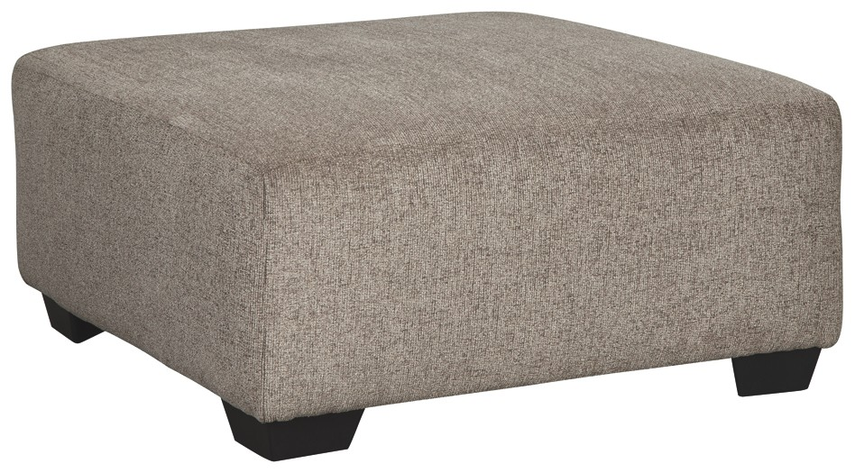 Fabulous Ballinasloe Platinum Oversized Accent Ottoman Ocoug Best Dining Table And Chair Ideas Images Ocougorg