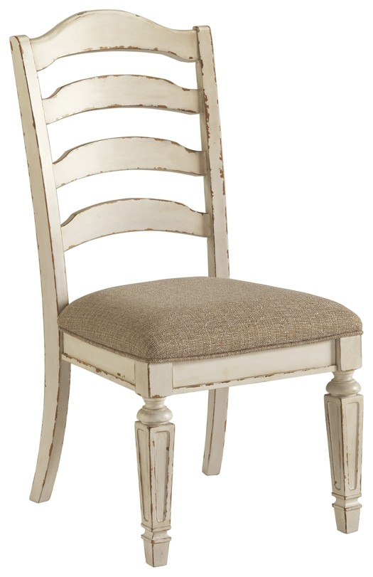 0e4b11910e86cd Realyn - Chipped White - Dining UPH Side Chair (2/CN) | D743-01 ...