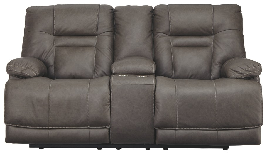 Prime Wurstrow Smoke Pwr Rec Loveseat Con Adj Hdrst Caraccident5 Cool Chair Designs And Ideas Caraccident5Info
